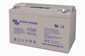 VICTRON AGM Deep Cycle Batt. 12V/110Ah
