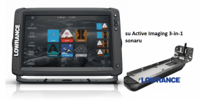 Navigatorius Lowrance Elite-12Ti² su Active Imaging 3-in-1 sonar