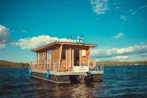 HOUSEBOAT ECO-WOOD 23 M2 / 4 PERS. (2+2)