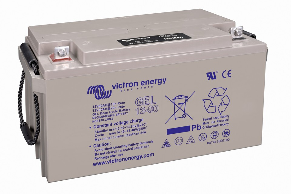 Victron 12V/90Ah Gel Deep Cycle Batt.