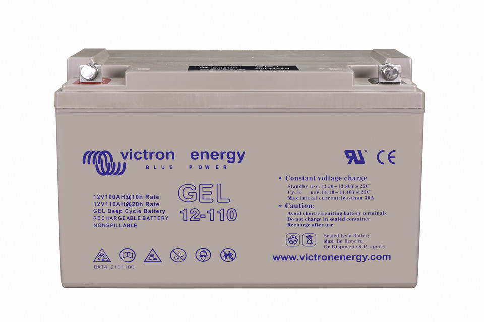 Victron 12V/110Ah Gel Deep Cycle Batt.