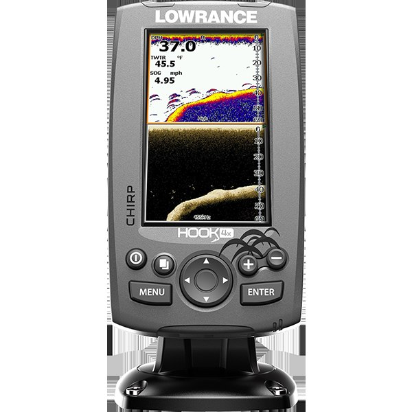 Lowrance HOOK-4x Mid/High/Downscan